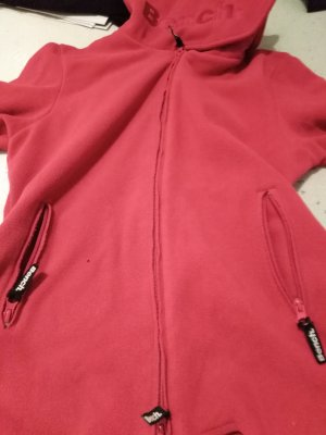 Bench Fleece jack roze