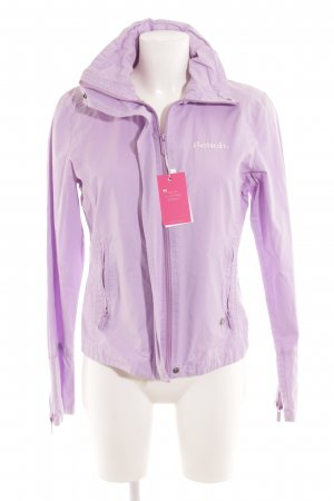 Bench Sportjacke helllila Casual-Look