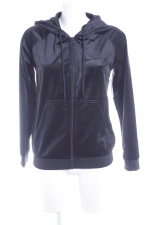 Bench Sportjacke schwarz Casual-Look