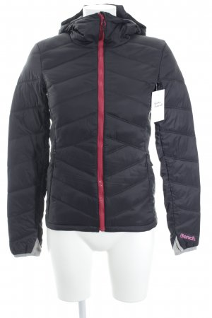 Bench Quilted Jacket anthracite-magenta classic style