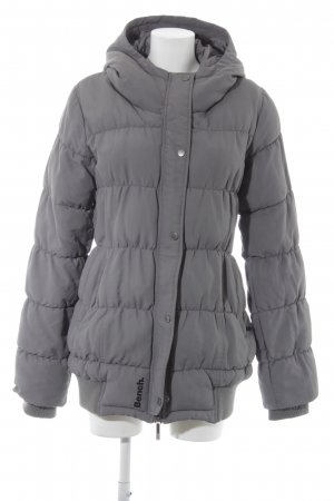 Bench Steppjacke grau Steppmuster Casual-Look