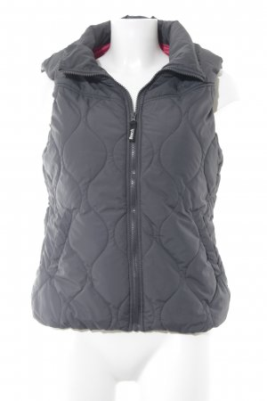 Bench Quilted Gilet grey-magenta athletic style