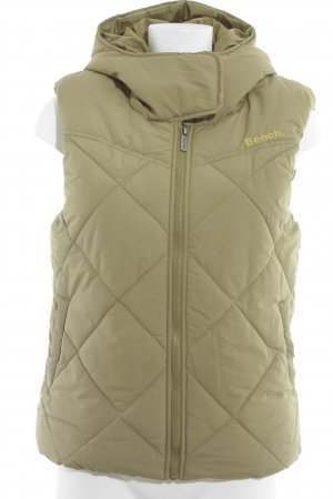 Bench Quilted Gilet lime yellow quilting pattern athletic style