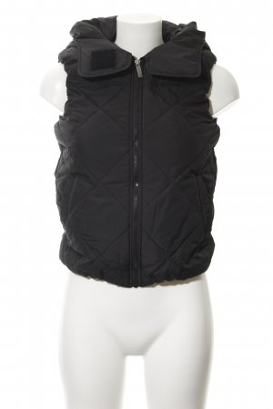 Bench Quilted Gilet black athletic style