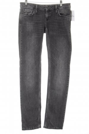 Bench Straight-Leg Jeans dunkelgrau Street-Fashion-Look