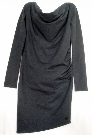 Bench Stretch Kleid Langarm dunkelgrau/antrazit Gr M
