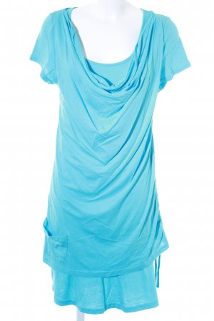 Bench Stretchkleid hellblau Casual-Look