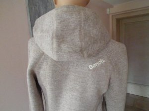 Bench Strickfleecejacke Kapuze Fleece 36 Neu
