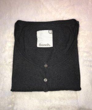BENCH Strickjacke - grau - M