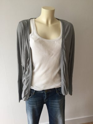 Bench Short Sleeve Knitted Jacket light grey