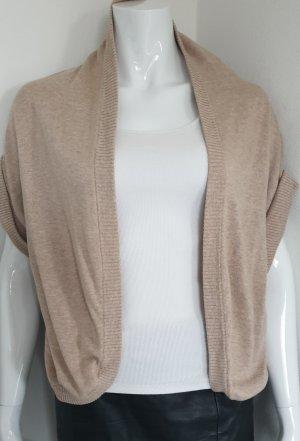 Bench Veste en laine beige-gris brun