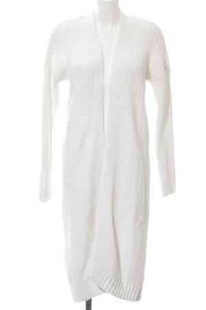 Bench Cappotto a maglia bianco-bianco sporco modello web soffice