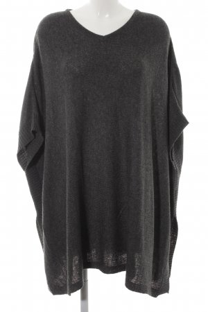 Bench Strickponcho anthrazit meliert Casual-Look