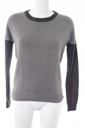 Bench Knitted Sweater light grey-dark grey casual look