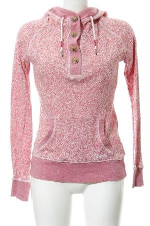 Bench Maglione lavorato a maglia rosa modello web stile casual