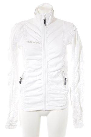 Bench Smanicato lavorato a maglia bianco-bianco sporco stile semplice