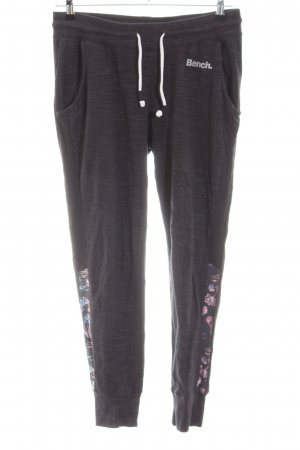 Bench Pantalone fitness grigio chiaro-rosa motivo floreale stile casual