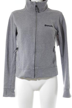 Bench Giacca fitness grigio chiaro puntinato stile semplice