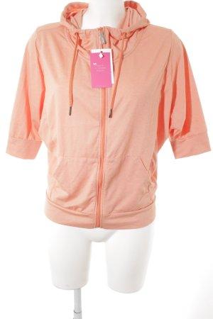 Bench Veste sweat orange clair style athlétique