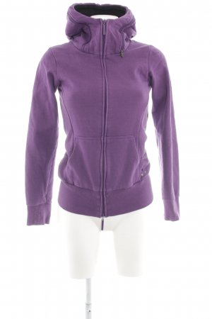 Bench Giacca fitness lilla stile casual