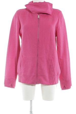 Bench Sweatjacke pink sportlicher Stil