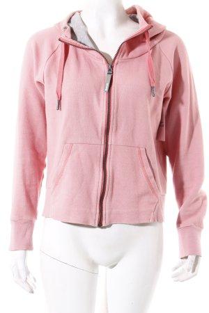 Bench Sweatjacke rosa sportlicher Stil