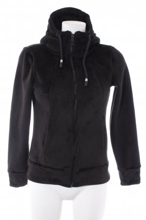 Bench Sweat Jacket black fluffy