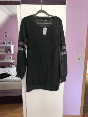 Bench Vestido de tela de sudadera gris antracita