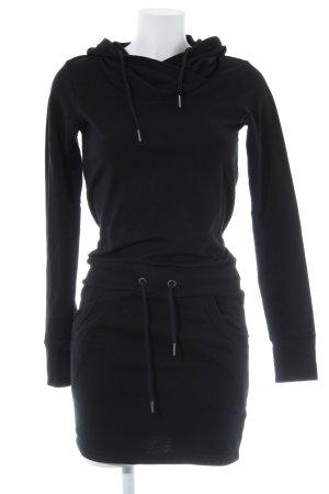 Bench Sweatkleid schwarz Casual-Look