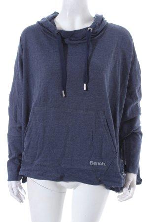 Bench Sweatshirt dunkelblau-graublau sportlicher Stil