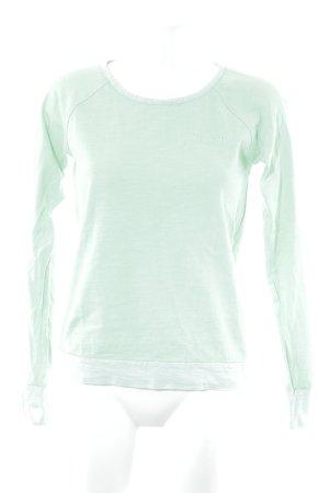 Bench Sweatshirt vert clair style décontracté