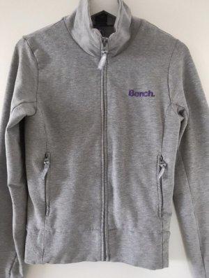 Bench Sweatshirt Jacke grau/lila