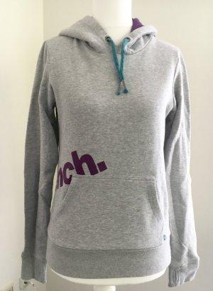 Bench Sweatshirt mit Kapuze - grau/lila - wie NEU !!