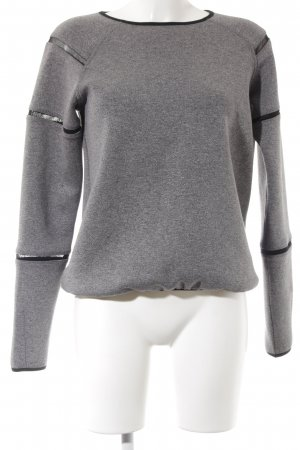Bench Sweatshirt schwarz-grau Casual-Look