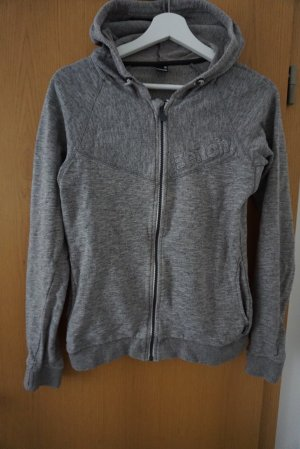 Bench Sweat Jacket light grey-grey