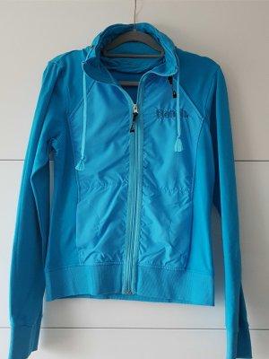 BENCH Sweatshirtjacke blau