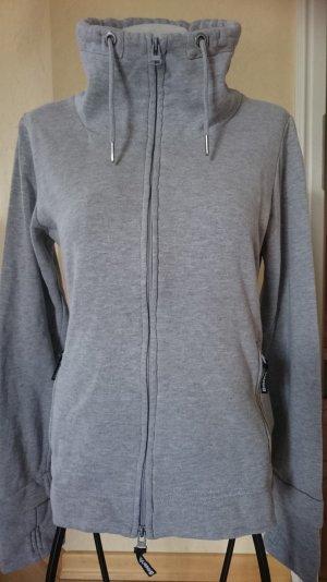 Bench Sweatshirtjacke Gr L Grau