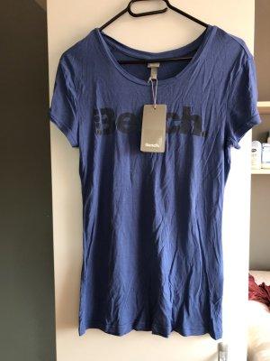 Bench T-shirt blu acciaio