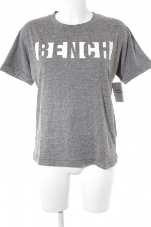 Bench T-Shirt grau Casual-Look