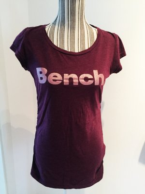 BENCH T Shirt in Beere Gr. M