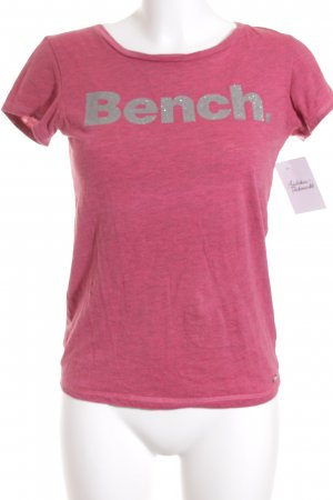 Bench T-Shirt magenta Casual-Look