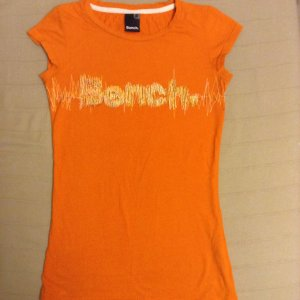 Bench T-Shirt orange Größe xs/ 34