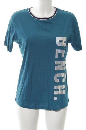 Bench T-Shirt petrol sportlicher Stil