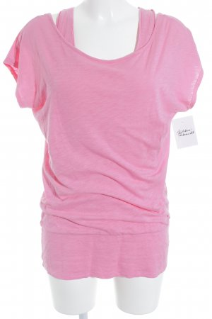Bench T-Shirt pink Casual-Look