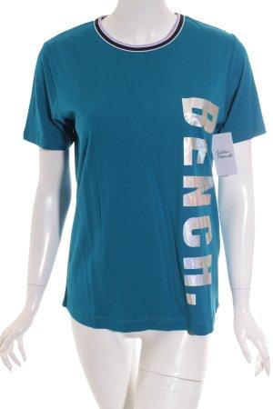 Bench T-Shirt Schriftzug gedruckt sportlicher Stil