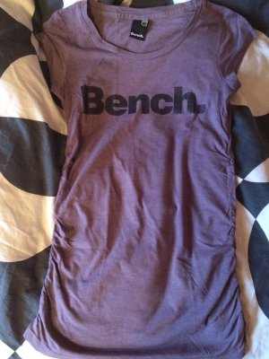 Bench T-Shirt XS Lila Glitzer