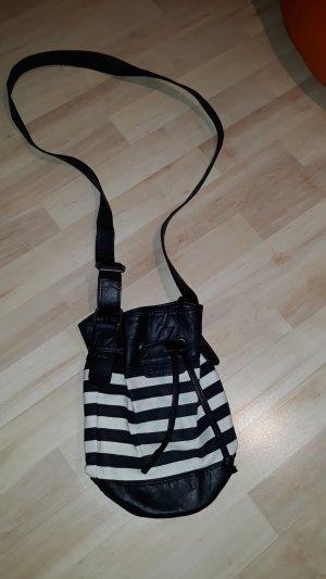 Bench Minibolso negro-blanco puro
