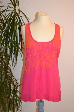 Bench Tanktop pink orange Gr. M