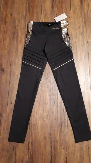 Bench Leggings nero-oro