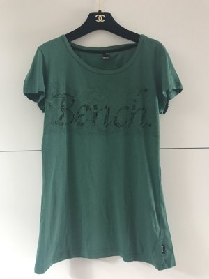 Bench Tshirt L Grün Dunkelgrün